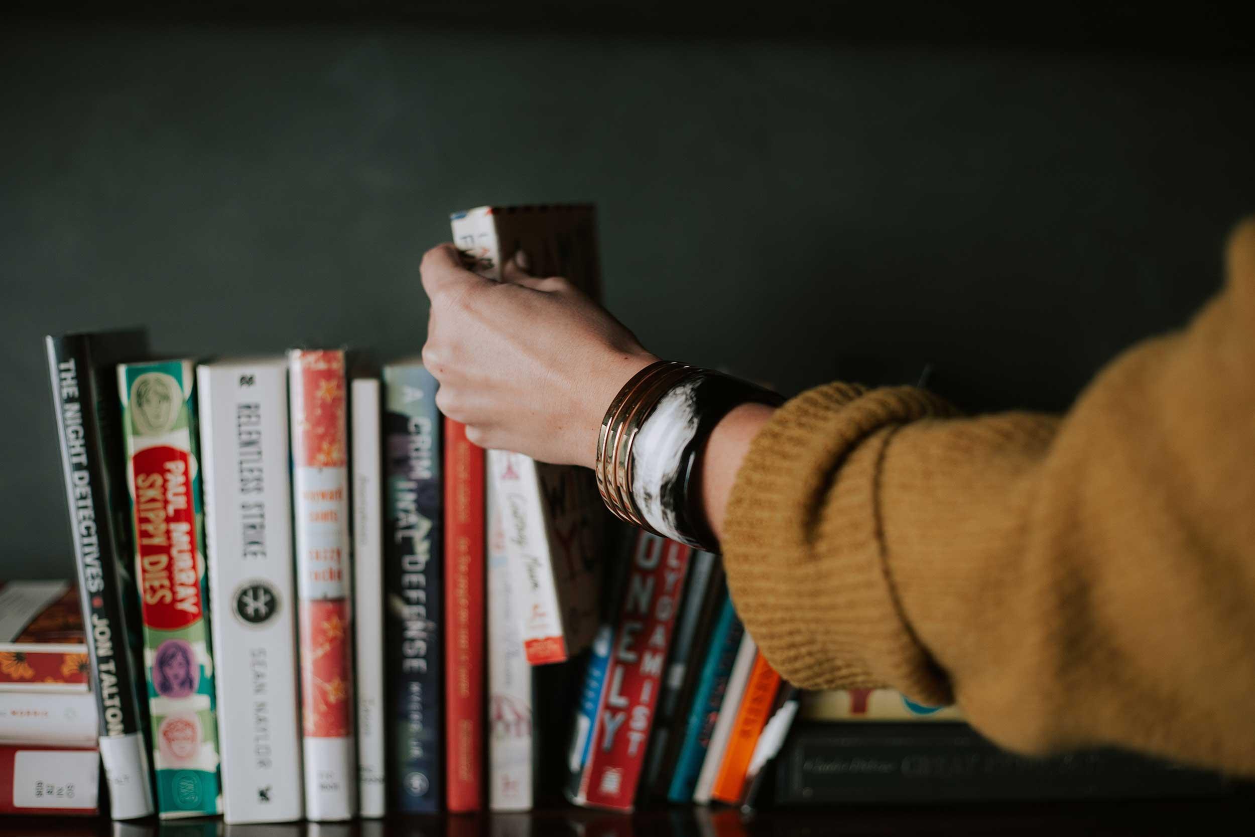 boek pakken